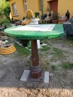 Retro kerti asztal ,öntöttvas