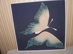 Textil Pillangós Kép