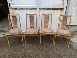 Fa étkező székek