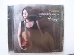 Violinist Yongsun Kwon Eassy I. CD :Mozart, Bach művek