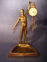 Bronz asztali zsebóra tartó. 2002 18