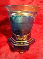Ritka, bieder pohár! XIX-ik század, cc. 1840!! Hibátlan!