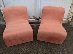 Barack színű retro fotel