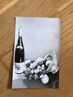 Boldog Új Évet képeslap - 1963 -as