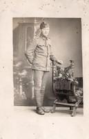 Katona portré kép