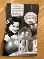 Boldog Új Évet képeslap - 1966 -os