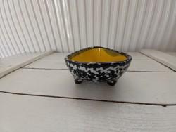 Retro ikebana tál_váza