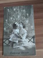 Antik karácsonyi képeslap