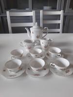 Drasche porcelán kávéskészlet
