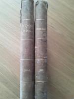 Bolond Istók élclap 1884.  és 1886. évfolyam egyben, eredeti  korabeli kötésben