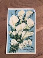 Szívélyes Üdvözlet Névnapjára képeslap - 1953 -as