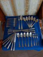 Antik ezüst étkészlet! 1700 Gr! 200Ft/gr.