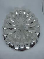 Gyönyörű pesti ezüst Art Deco gyümölcskínáló