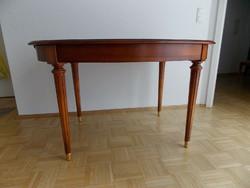 Warrings Salzburg cseresznyefa kinyitható étkezőasztal 4 székkel