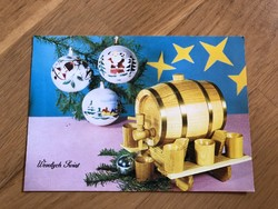 Boldog Karácsonyi Ünnepeket képeslap