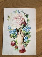 Virág Matrica 1900  képeslap - 1986 -os
