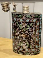 Zománcozott ezüst flaska