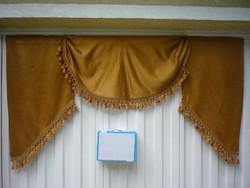 Aranysárga szatén drapéria 200712