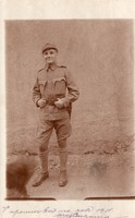 Katona portré kép, Kuk Infanterieregiment