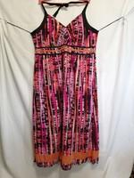 52-es női, indiai, pamut, nyakba akasztós,nyár, kánikula ruha.