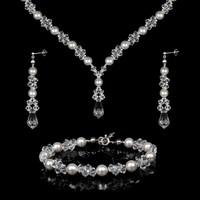 Esküvői, menyasszonyi, alkalmi ékszer szett, swarovszki kristály SSZE-SWF05-1 5328