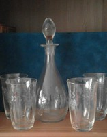 Boros készlet 4 pohárral
