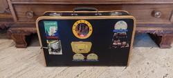Matricás utazó táska, koffer, bőrönd