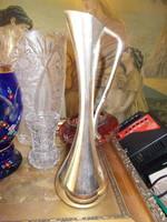 Retro fém váza
