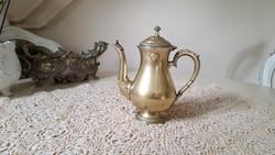 Gyönyörű sárgaréz teás,kávés kanna,kancsó