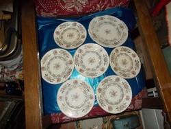 Régi szépséges süteményes tányérok
