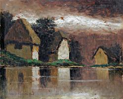 Szepesi Kuszka Jenő- Vízparti házak
