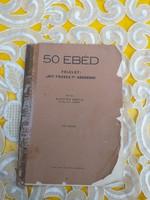 Kapitán Mária: 50 ebéd 1944 ritka könyv