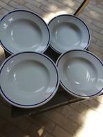 Zsolnay mély tányérok 4 db