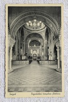 Régi képeslap Szeged Fogadalmi templom főoltára