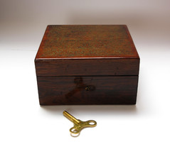 Old american music box with video.