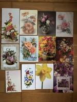Vegyes Virágcsokor képeslapok