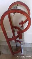 Midcentury/ retro, 60-as évekbeli, 2 személyes ródli gyereknek/Téli vintage sport eszköz