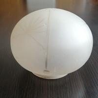 Art deco díszes csillár, lámpa  üvegbúra