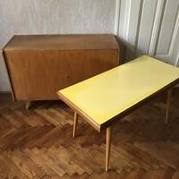 Mid Century asztal, Jiří Jiroutek, retró