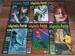 11 db Digitális Fotó Magazin egyben
