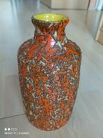 Tófej kerámia váza 4