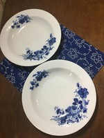 Alföldi mély tányér (kék rózsa)