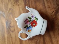 Kalocsai porcelán teafiltertartó