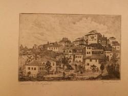 Gross Arnold, Trnovo (Bulgária), hibátlan, régi, ritka, gyűjtői darab