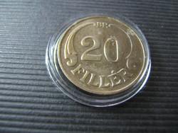 20 fillér 1938  aUNC