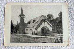Régi képeslap Tisza István - Ligeten Szent István - Kápolna