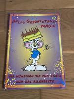 Születésnapi jókívánság - képeslap