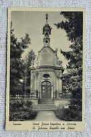 Régi képeslap Sopron Szent János kápolna a Lővéren