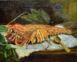 Pichler Pál (1885 - 1918) HOMÁR CSENDÉLET !