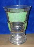Glass display glass